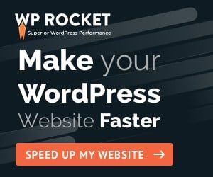 WP Rocket Wordpress Cache Plugin Banner