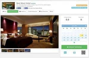 Example Hotel Details Page